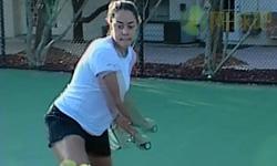 精确制导的反手 尼克网球教学视频 第二集