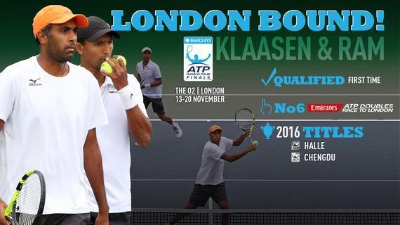 拉姆/克拉森入围ATP年终总决赛