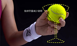 网球发球基础动作演示