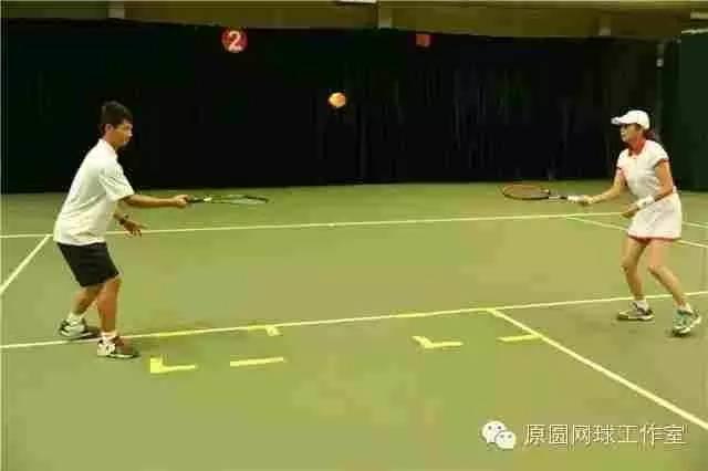 两人持拍的练习方法