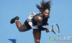 小威廉姆斯VS本西奇 2017年澳网公开赛 女单第一轮比赛视频