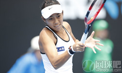 张帅VS里斯克 2017年澳网公开赛 女单第二轮比赛视频