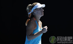 科贝尔VS维特赫夫特 2017年澳网公开赛 女单第二轮比赛视频