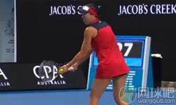 库兹涅佐娃VS扬科维奇 2017年澳网公开赛 女单第三轮比赛视频