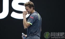 伊斯托明VS德约科维奇 2017年澳网公开赛 男单第二轮比赛视频