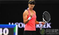 鲁西奇VS拉德万斯卡 2017年澳网公开赛 女单第二轮比赛视频