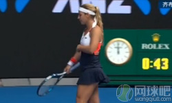 齐布尔科娃VS马卡洛娃 2017年澳网公开赛 女单第三轮比赛视频