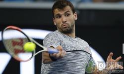 迪米特洛夫VS伊斯托明 2017年澳网公开赛 男单第四轮比赛视频