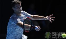迪米特洛夫VS戈芬 2017年澳网公开赛 男单1/4决赛比赛视频