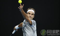费德勒VS兹维列夫 2017年澳网公开赛 男单1/4决赛比赛视频
