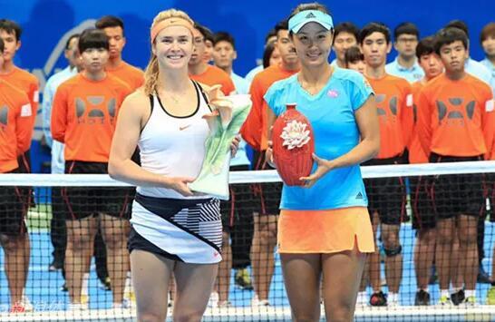 WTA台湾公开赛彭帅不敌头号种子