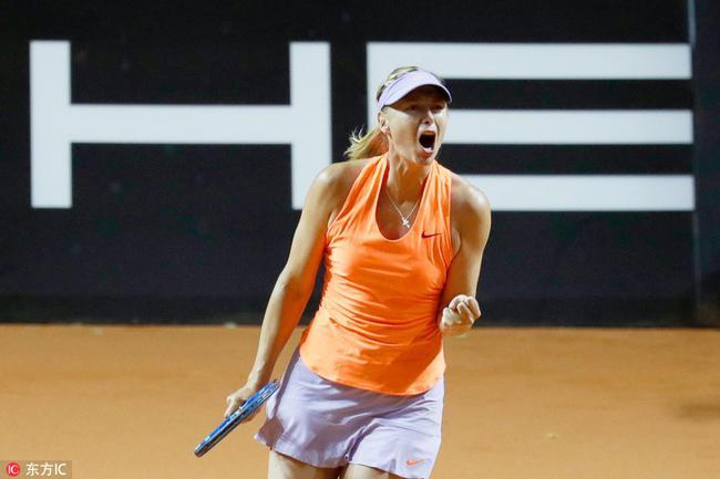 斯图加特赛莎拉波娃晋级4强 半决赛战梅拉德诺维奇