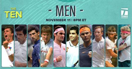 谁是有史以来最好的10名男子网球运动员