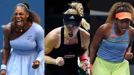 威廉姆斯,克伯,大阪,沃兹尼亚基在开幕周的比赛中领先女性