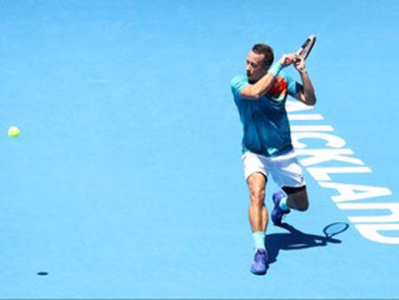 科尔什雷在科尼尼的首席执行官中排名第一的是他在ATP奥克兰公开赛半决赛中的位置