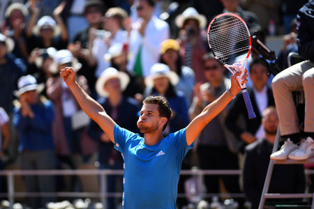 蒂姆结束了德约科维奇的主要统治; 与纳达尔举行法网决赛